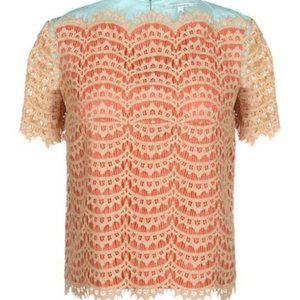 Carven Lace Overlay Top size EU 40 / 8